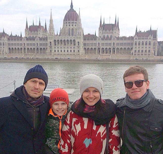 прекрасная семья Корягиных из Нижнего Новгорода