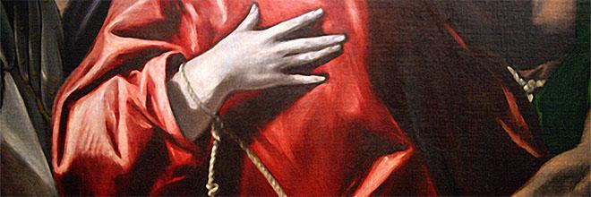Фрагмент работы Эль Греко, Будапештский музей изобразительных искусств. Русскоязычный гид по Будапешту Максим Гурбатов.