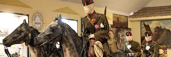 Часть экспозиции раздела о ВМВ, Музей военной истории Венгрии, Будапешт
