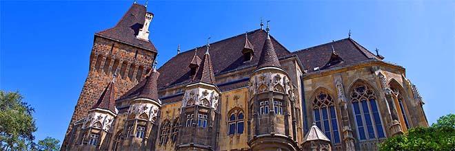 Замок Вайдахуньяд, Будапешт, Венгрия гид по Будапешту