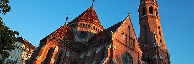 Церковь кальвинистов, Будапешт, Венгрия гид по Будапешту