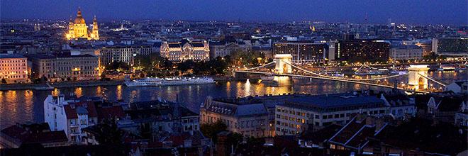 Вид на Пешт и Базилику святого Иштвана, Будапешт, Венгрия. гид по Будапешту и Венгрии