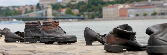 Памятник расстрелянным гражданам, Будапешт, Венгрия