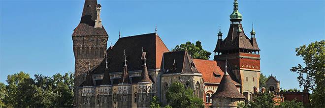 Замок Вайдахуньяд, Будапешт, Венгрия. гид по Будапешту и Венгрии