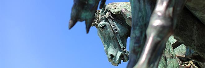Памятник Тысячелетию Венгрии на Площади Героев, Будапешт, Венгрия