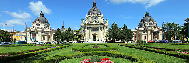 Термальные купальни Сечени, Будапешт, Венгрия
