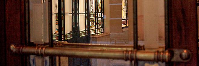 Фрагмент интерьера отеля Грэшэм, Будапешт. гид по Будапешту и Венгрии