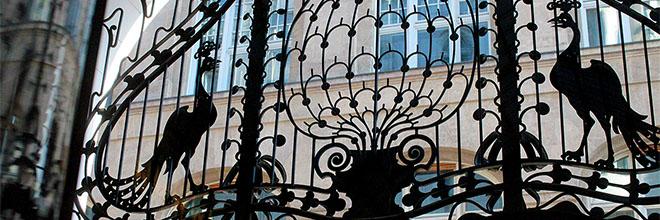 Фрагмент интерьера отеля Грэшэм, Будапешт