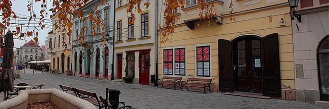 В Дьёре даже зимой очень и очень красиво. гид по Будапешту