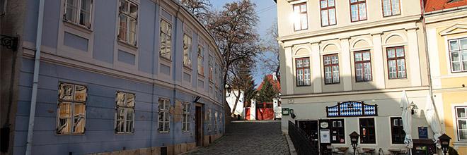 В центре города Дьёр, Венгрия. гид по Будапешту