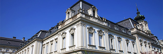 Главный корпус дворца Фештетичей, Кёстхей, Венгрия. гид по Будапешту