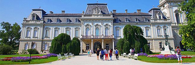 Дворец Фештетичей, Кёстхей, Венгрия. гид по Будапешту