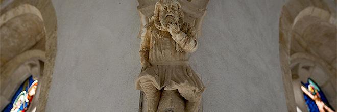 Деталь декора галереи клуатра, Паннонхалмское аббатство, Венгрия. гид по Будапешту