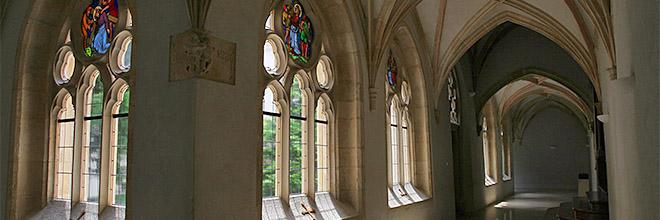 Галерея клуатра, Паннонхалмское аббатство, Венгрия. гид по Будапешту