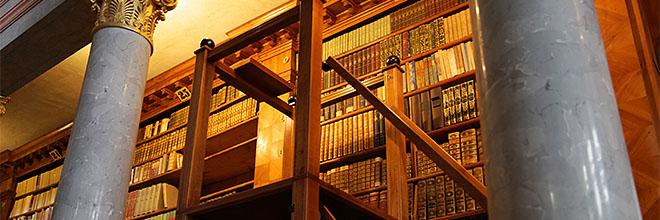 Стремянка библиотекаря Паннонхалмского аббатства, Венгрия. гид по Будапешту