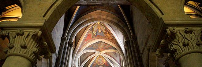 Интерьер собора, Паннонхалмское аббатство, Венгрия. гид по Будапешту