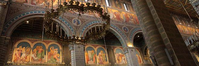 Печ, интерьер собора. гид по Будапешту