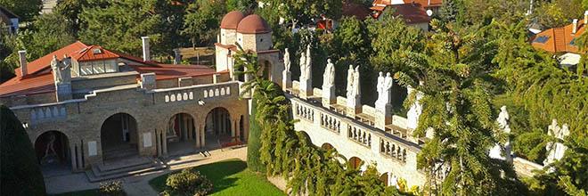 Клуатр замка Бори, Секешфехервар, Венгрия