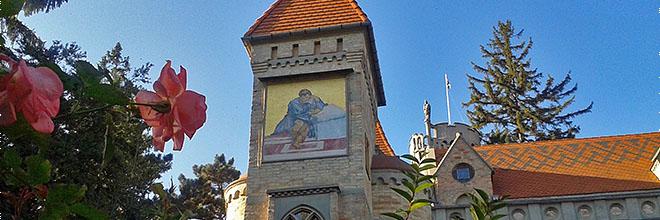 Сад замка Бори, Секешфехервар, Венгрия