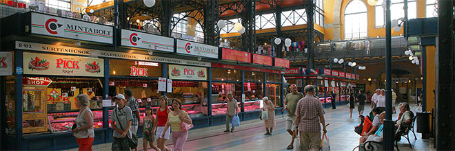 Центральный проезд Главного Рынка, Будапешт