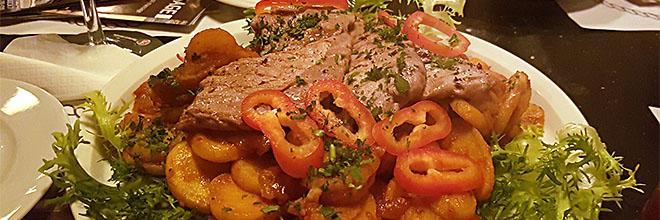 Мясо с овощами во Фо Сэйл Пабе