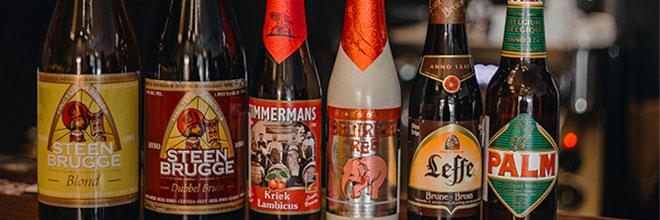 """Выбор пива в ресторане """"Папаша Марк"""" изобилен и велик."""