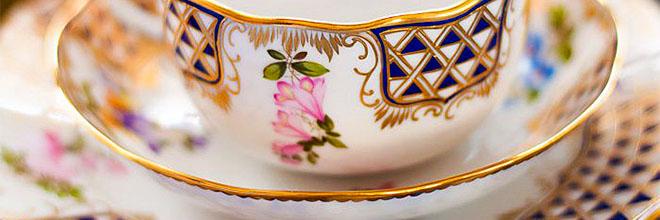 Чайная пара с сеточкой мануфактуры Херенд. Шоппинг в Будапеште. Русскоязычный гид по Будапешту Максим Гурбатов