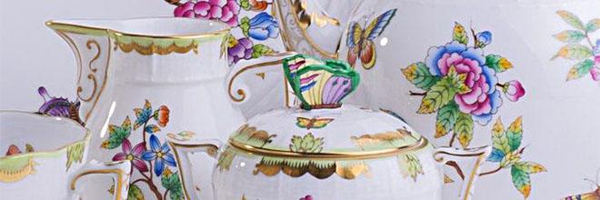 Сервиз с бабочками он же королевы Виктории мануфактуры Херенд. Шоппинг в Будапеште. Русскоязычный гид по Будапешту Максим Гурбатов